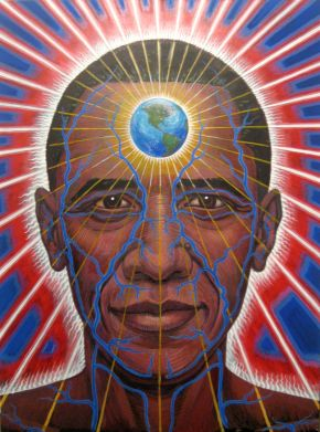 Anatomy of a World Leader by Alex Grey